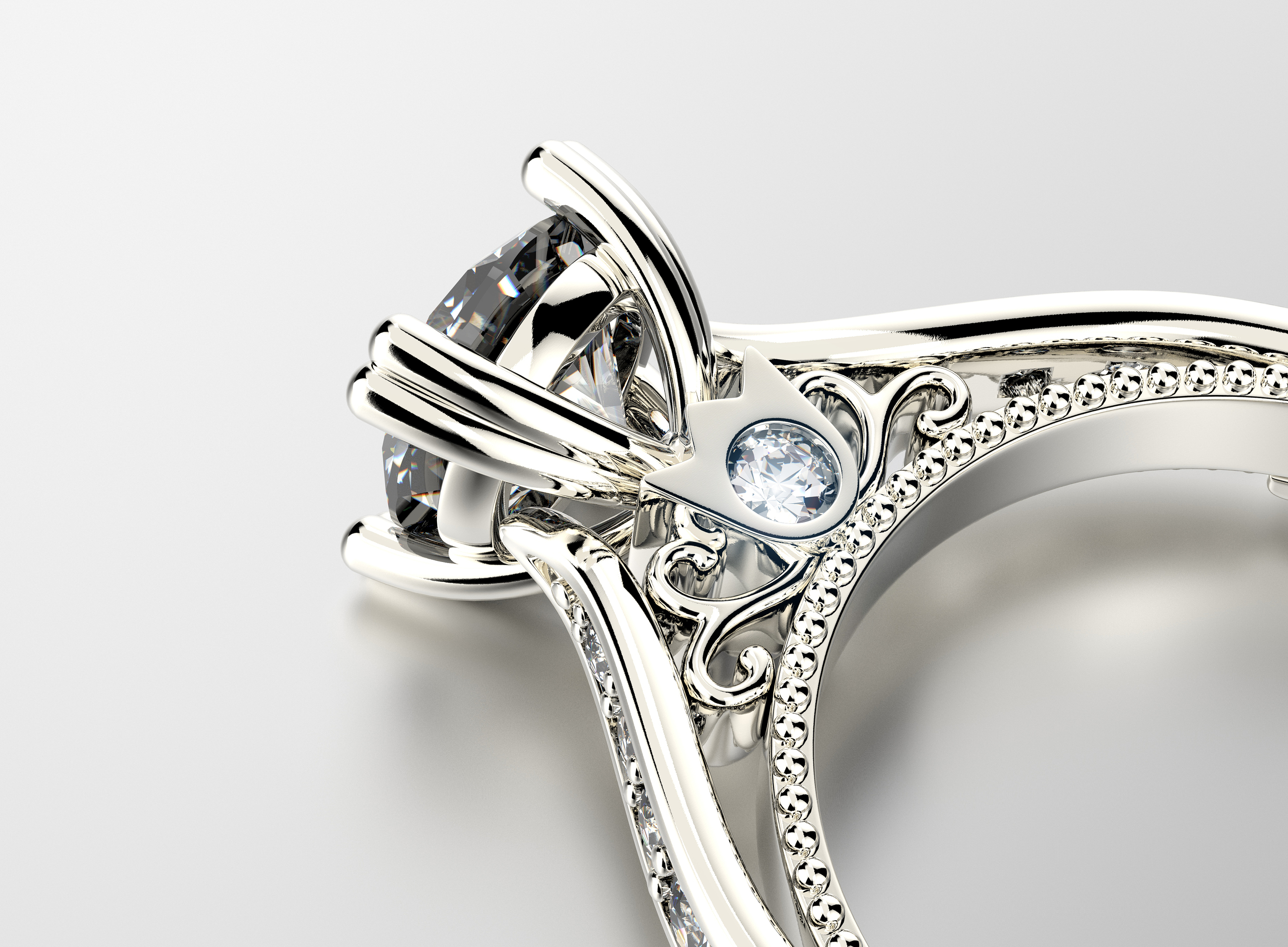cardiff golden engagement inspirations diamond of rings