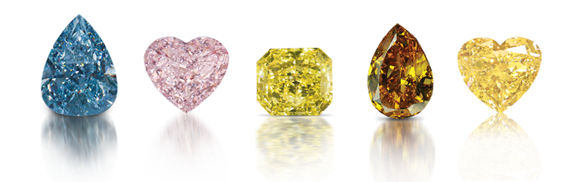 colors mines naturally result conditions color diamond diamonds these is king vivid colored from fancy occurring rare in