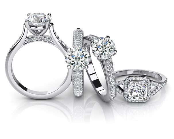 Browse Our Diamond Engagement Rings Collections
